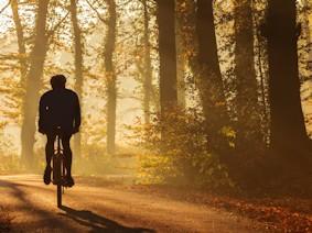 Winter Peak District Cycling