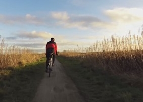 Winter Peak District Cycling Video