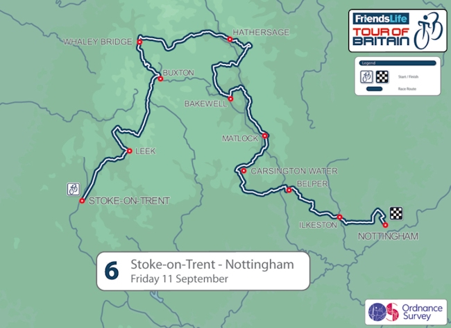 Stage Six, Tour of Britain 2015