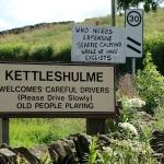 Kettleshulme Signs