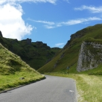 Winnats Pass, Peak District Cycling