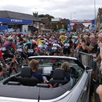 Tour of Britain - Stage 3 - Congleton Start