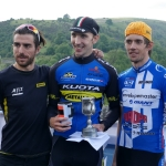 Monsal Hill Climb 2016 - Men's Podium