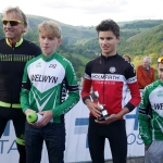 Monsal Hill Climb 2016 - School Boys Podium